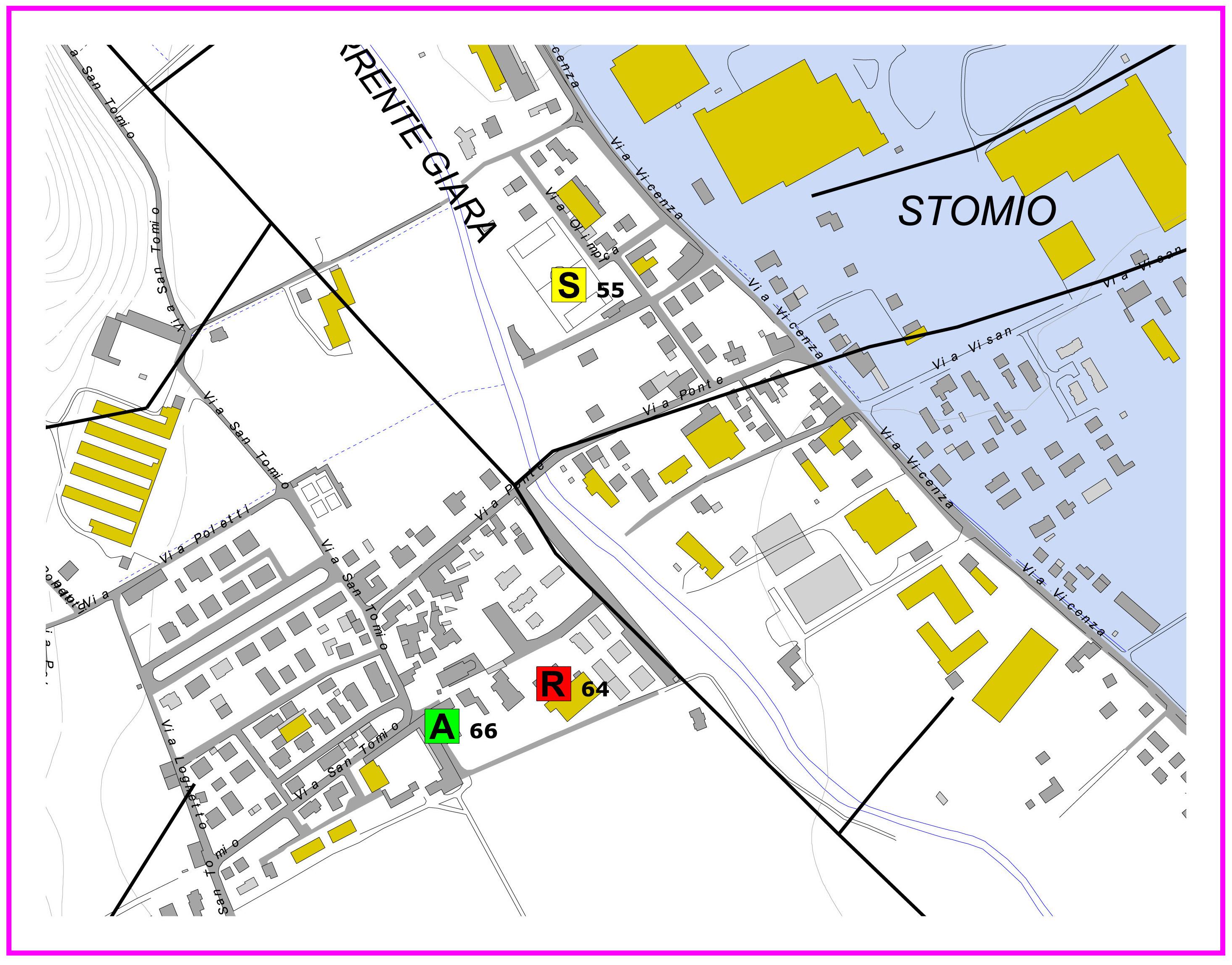 cartina santomio