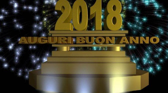 Tanti auguri di un felicissimo 2018 dai volontari …