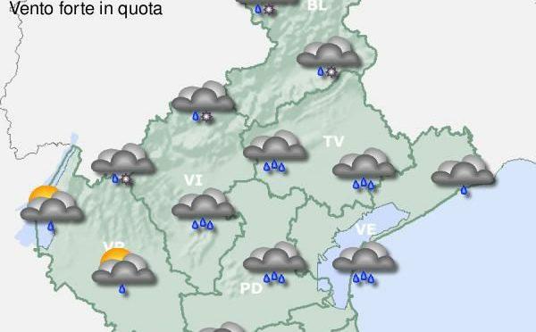 Previsioni meteo per il 19 settembre.