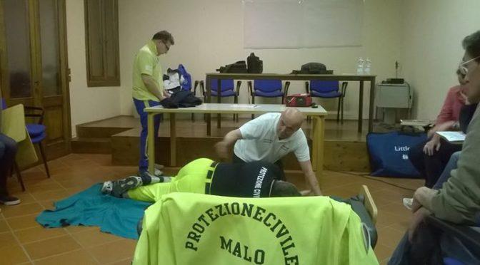 Altra serata di formazione per alcuni Volontari .